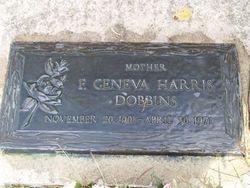 Florence Geneva <i>Harris</i> Dobbins