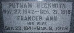 Frances Ann Beckwith