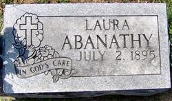 Laura Agnes <i>Huddleston</i> Abanathy