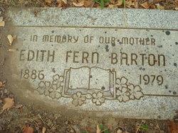 Edith Fern <i>Kirkland</i> Barton
