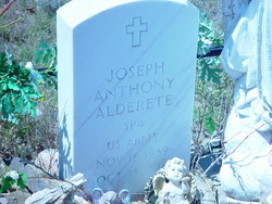 Spec Joseph Anthony Alderete