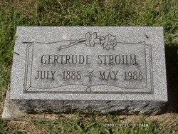 Jennie Gertrude <i>Wehrly</i> Lee Strohm