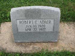 Robert E Adair