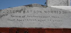 Joseph Batson Norriss