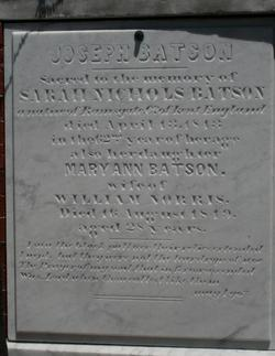 Mary Ann <i>Batson</i> Norris