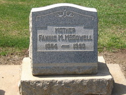 Fannie Myra <i>Shaw</i> McDowell