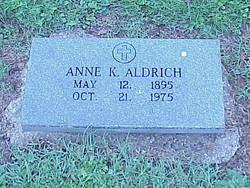 Anne <i>King</i> Aldrich