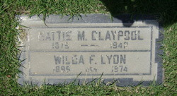 Hattie May <i>Simmons</i> Claypool