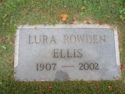 Lura Belle <i>Rowden</i> Ellis