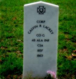 Corp Calvin R Lackey