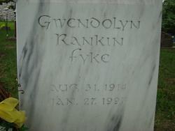 Gwendolyn <i>Rankin</i> Fyke