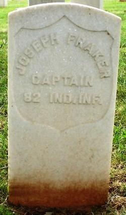 Capt Joseph Fraker