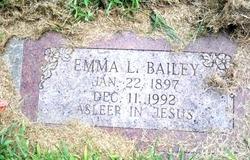 Emma Louise <i>Ingold</i> Bailey