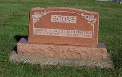 Charlotte <i>Harrison</i> Boone
