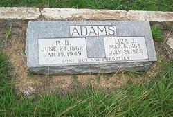 Pleas Benjamin Adams