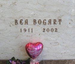 Berthelda Bea Bea <i>McVicker</i> Bogart