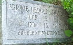 Bertie <i>Hedgepeth</i> Clark