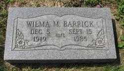 Wilma M. Barrick