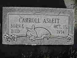 Carroll Aslett
