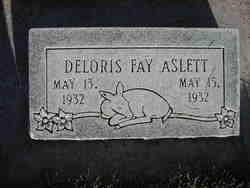 Delores Fay Aslett