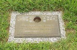 Mae <i>Newton</i> Barber