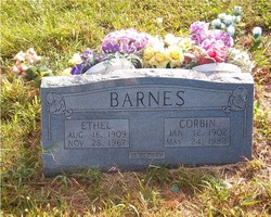 Ethel <i>Sutterfield</i> Barnes