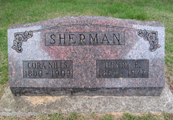Cora Virginia <i>Niles</i> Sherman