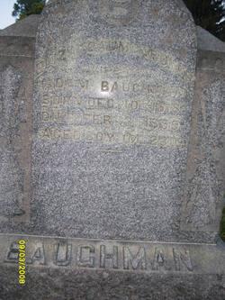 Elizabeth Eliza <i>Baumgardner</i> Baughman