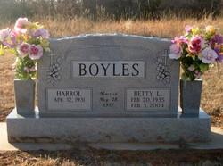 Betty Lou <i>Holt</i> Boyles