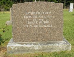 Emma E. <i>Wilson</i> Lanier