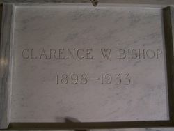 Clarence W Bishop