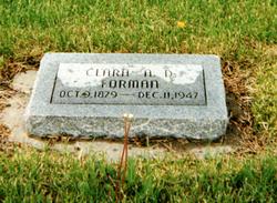 Clarissa Rebecca Clarie <i>Ames</i> Forman