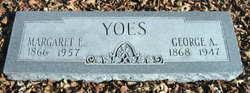 Margaret Elizabeth <i>Green</i> Yoes
