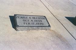 Pearl Edith <i>Harlan</i> Bledsoe