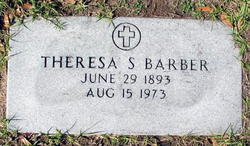 Theresa S <i>Fietz</i> Barber