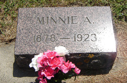 Minnie Alice <i>Barnhart</i> Hansel