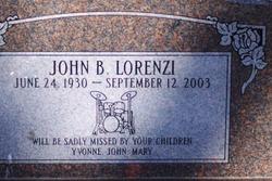 John B Lorenzi