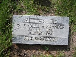 W. E. Bill Alexander
