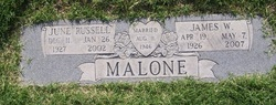June <i>Russell</i> Malone
