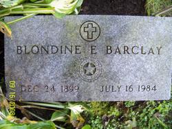 Blondine E. <i>Strickland</i> Barclay