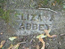 Eliza Ann <i>Nugent</i> Abbey