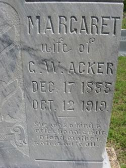 Margaret Acker