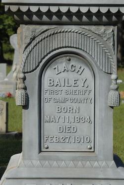 Zachariah W. Bailey