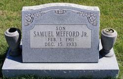 Samuel Friendly Mefford, Jr