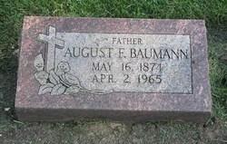 August F Baumann