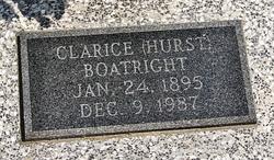 Clarice <i>Hurst</i> Boatright