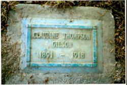 Claudine <i>Thompson</i> Gilson