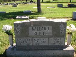 Georgia A <i>Rutter</i> Ballard