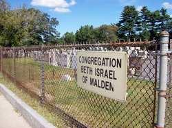 Congregation Beth Israel of Malden Cemetery
