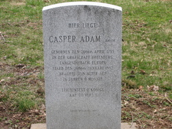 Caspar And Elizabeth Memorial Adams